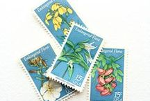 STAMP FIEND / Vintage & rubber stamps galore