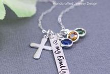Sterling Silver Hand Stamped Jewelry