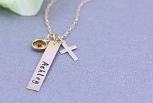 14K Gold Filled Hand Stamped Jewelry