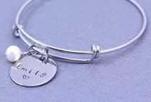 Stainless Steel Hand Stamped Jewelry