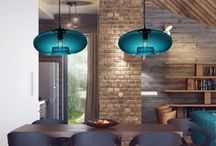 Best Pendant Dining Lights / Make dining a spiritual experience and converse & eat under the glow of specially chosen pendants that focus light on the sharing of food - one of life's great pleasures.