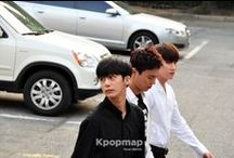 MonstaX / Monsta X (Hangul: 몬스타엑스) is a South Korean hip hop boy group created by Starship Entertainment, active since May 14, 2015. The members who won the survival show 'NO.MERCY' debuted as Monsta X. The group consists of seven members: Shownu (Son Hyun Woo), Wonho (Shin Hoseok), Minhyuk (Lee Minhyuk), Kihyun (Yoo Kihyun), Hyungwon (Chae Hyungwon), Jooheon (Lee Jooheon), and I.M (Im Changkyun).