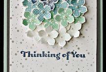 Pansy/petite petals cards
