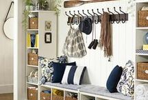 Storage for school bags & shoes etc / Storage ideas for school bags, shoes and all the bits that come in the door!