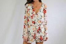 SPRING & SUMMER 2016 / Fun dresses, tops, and rompers perfect for Spring and Summer!