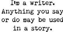 Writers ♥