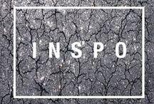 I N S P I R A T I O N / photography, art, and life inspiration
