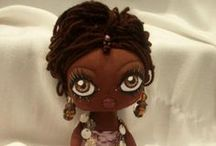 Cloth, Crochet & Knitted Dolls /  Tutorials, patterns & some inspiration. / by Dulce R-L