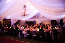 Tent: Tent Liners / Draped tent liners add a very elegant element to a tent. Keep the lighting in mind when you are designing a tent with a liner. Here are some very inspirational designs