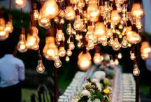Tent: Lighting Inspiration / Lighting is a very important element to your design. Some terms used in event lighting: color wash, gobo, up lighting, Intelligent, string lights, fairy lights, bistro lights. Hope you find an idea you can use from this board. Happy Pinning!