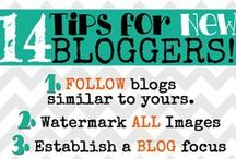Blogging Tips / Tips for new bloggers. Includes things like hosting giveaways and setting up your very own blog.