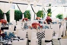 Tent: Black & White Inspiration / Black and White can be very bold if used in bold patterns or color blocking. There are some great ideas on this board on how to use these colors well.