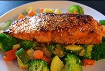 Salmon Recipes... / Salmon only recipes / by Dennis Englefield