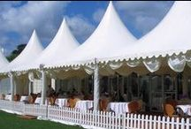 Tent: High Peak Marquee  / Marquee tents are typically smaller tents like 10x10 or 20x20. They have a nice tall silhouette.