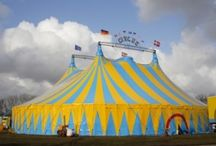 Tent: Circus Tent / When people think of tents, they think of the circus. Circus tents are are rarely rentable because they are typically custom made for a show.