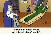 On the Couch - Psych Cartoons / Only cartoons where clients are on the psychiatrist's couch / by Prolific.Pinner
