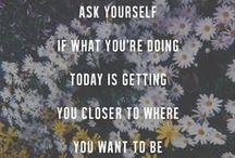 Inspiration/Motivation / Quotes to motivate you to reach your goals!