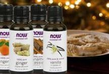 Holiday Aromatherapy Recipes / Check out our NOW Aromatherapy Recipes to uplift you this Holiday Season!