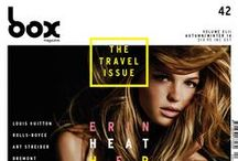 BOX MAGAZINE The Travel Issue / Featuring Erin Heatherton | Photography - Russell James | Make Up - Mayia Alleaumes | Hair - Italo Gregorio | @BOXMAG