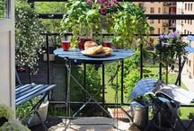 Balcony - the little garden paradise