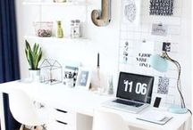Desk / Home design inspiration to help you decide how to get the most of out your SONOS system using Flexson accessories. Desk design, ideas and decor.