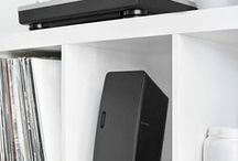 SONOS / Home design inspiration to help you decide how to get the most of out your SONOS system using Flexson accessories. Home design, ideas and decor.