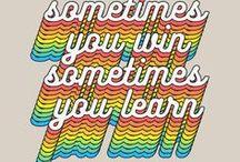 q u o t e s / Frases para se inspirar, para começar o dia bem, pra ficar bem com você mesmo! Uma pasta recheada de amor e frases!