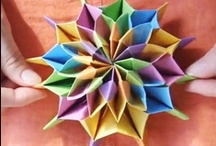 Origami / Paper crafts, Paper folding, origami / by KaeLynn