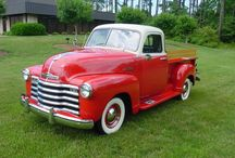 Beautiful Old Pickups / PU trucks 30s 40s 50s 60s 70s and 80s / by Ron Davis