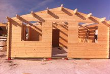 Montaggio casa 55mq con camera da letto e bagno / Montaggio casa Per campeggio 55mq con camera da letto e bagno, spessore 43mm