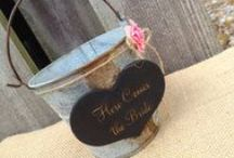 Flower Girl and Ring Bearer Gifts / Fun and creative invitations and gifts for a wedding flower girl or ring bearer