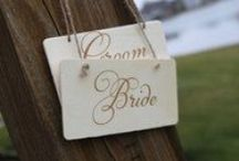 Wedding Signs / Favor, thank you, gift table, reserved for, photo booth, and 'Here comes the bride' wedding signs