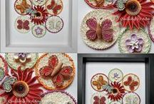 My quilling works 2014