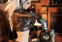 Kato Steamgirl / Beautiful Steampunk alternative model Kato / by Gwen Hammond
