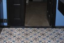 Authentic hand made cement tiles / A collection of encaustic cement tiles themes we make that we have not found elsewhere