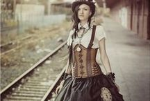 Steampunk / Steampunk fashion style Love / by Gwen Hammond