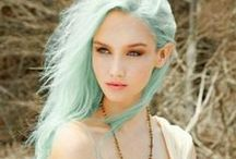 Dyed Hairstyles / Beautiful dyed hair styles