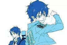 blue excorcist / demons,satin. blue moon , son,