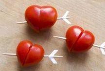 Les recettes des amoureux / De délicieuses pour un dîner à 2, entre amoureux, pour la Saint Valentin...