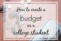 College on a Budget / Save money while you're in college!