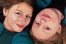 Commissioned Portraits / A collection of portrait commissions by Rebecca Luncan
