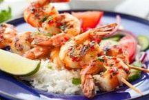 Costaud la crevette ! / On se régale avec ces délicieuses recettes de crevette. Il y en a pour tous les goûts ;-)