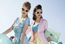 OFFICE | SS15 Trend | Miami Calling / One of this seasons hottest trends is Miami Calling, a popsicle explosion of pastels and retro silhouettes mixed with some 50's Barbie Girl glam and Art Deco shapes.  SHOP PASTELS > http://www.office.co.uk/view/search?search=pastelstrend