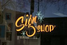sign painting