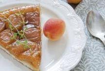 L'abricot fait son show ! / Une belle couleur, un bon goût, on adore ces petites recettes à l'abricot ;-)