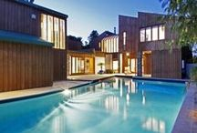Modern Luxury Residences / Beautiful minimalist, modern houses, villas, residences or other luxury estates that are breathtaking in their simplicity.   Leave a comment under one of the pins if you'd like to contribute!! Thank you, and happy pinning!