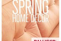 Spring Home Decor / From DIYs to design, here are home decor ideas that are inspiring us this spring!