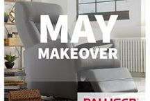 May Makeover / Ready for a home Ma(y)keover? We are with these DIYs, inspiration images and ideas.