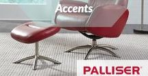 All About Accents / Accent your home with a Palliser Furniture piece to bring your living room to the next level.