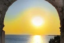 Sunset In Paros / #Sunset in Paros. The time you fall in love. #Travel #summervacations #Greece